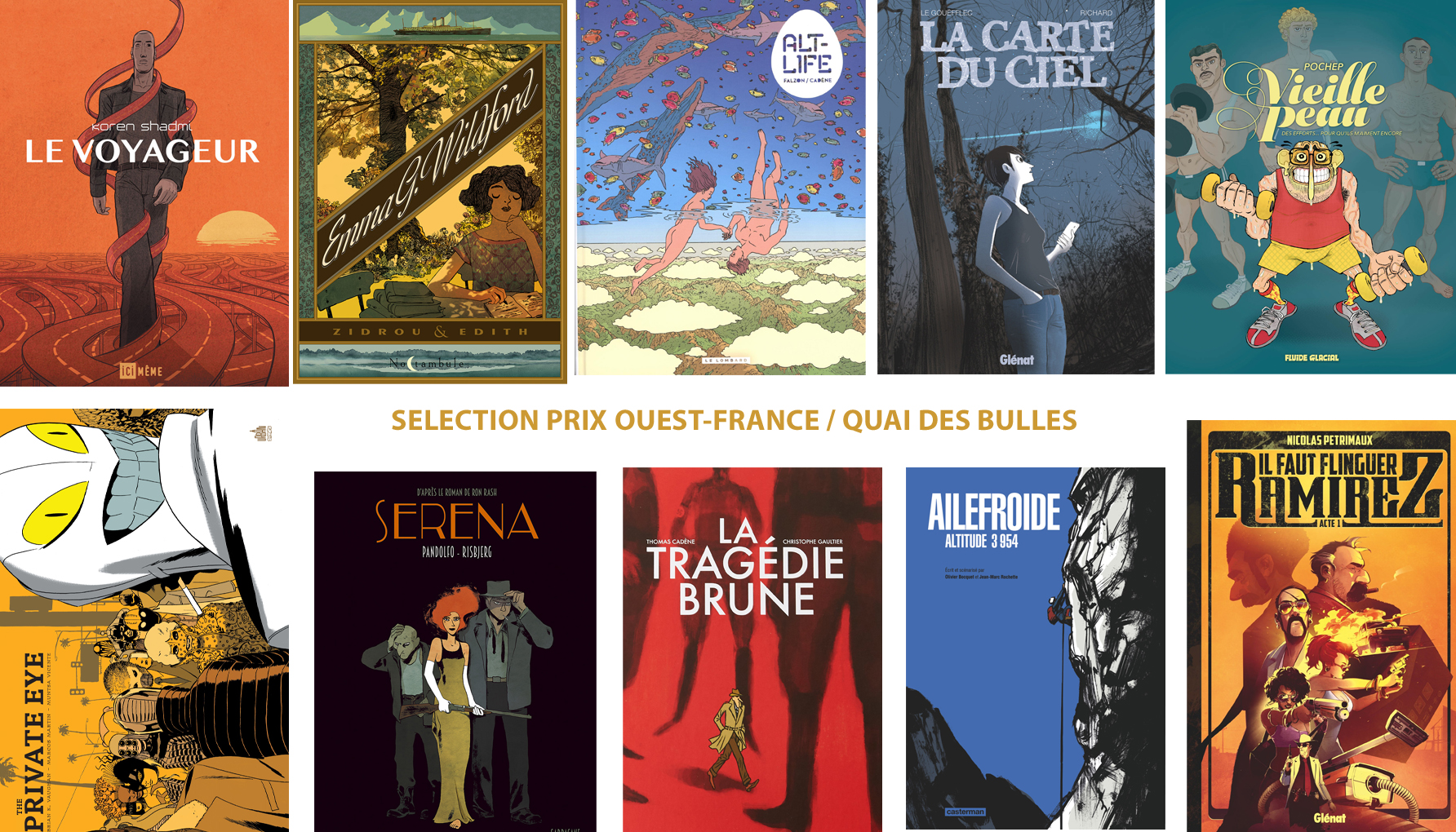 sélection Ouest France 2018