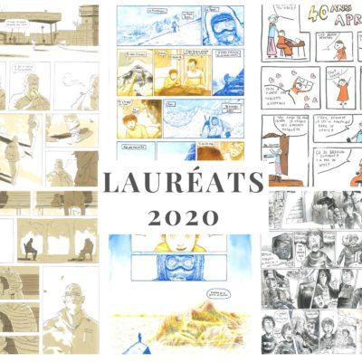 lauréats 2020 JT